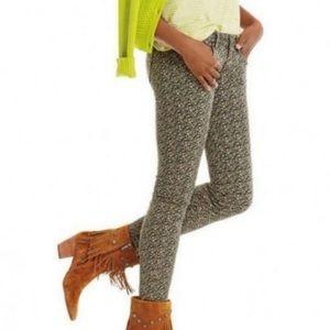 Cabi 5083   Skinny Ditsy Floral Pants   Size 2